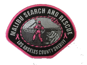 Malibu Search and Rescue Team Patch  #pinkpatchproject