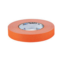 "P-665 Camera Tape 1"" Fluorescent Orange"