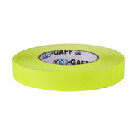 "P-665 Camera Tape 1"" Fluorescent Yellow"