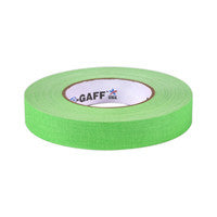 "P-665 Camera Tape 1"" Fluorescent Green"