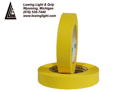 "Paper Tape 1/2"" Yellow"