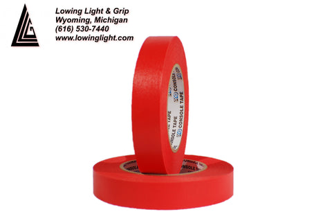 "Paper Tape 1"" Red"