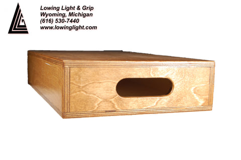 "Lowing Products Standard Apple Box 4"" Half"
