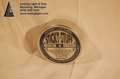 "Joe's Sticky Stuff 1/2"" 20' Tin"