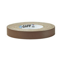 "P-665 Camera Tape 1"" Brown"