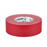 "P-665 Gaffers Tape 2"" Red"