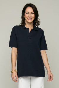 "27"" Short Sleeve Polo Top"
