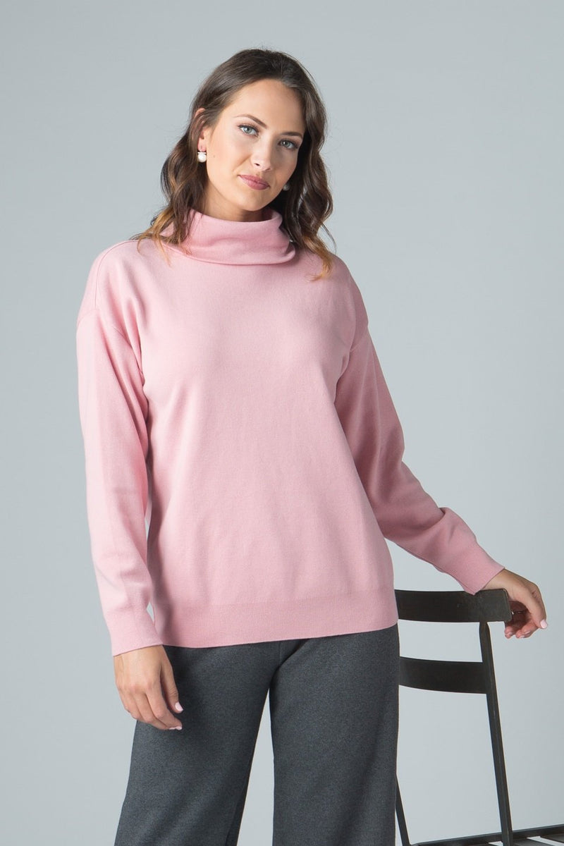 Long Sleeve Classic Turtle - New Orleans Knitwear - Tops - Blouses