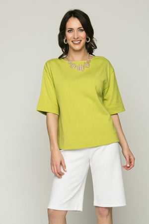 Short Sleeve Square Top