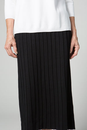 "35"" Long Pleated Skirt"