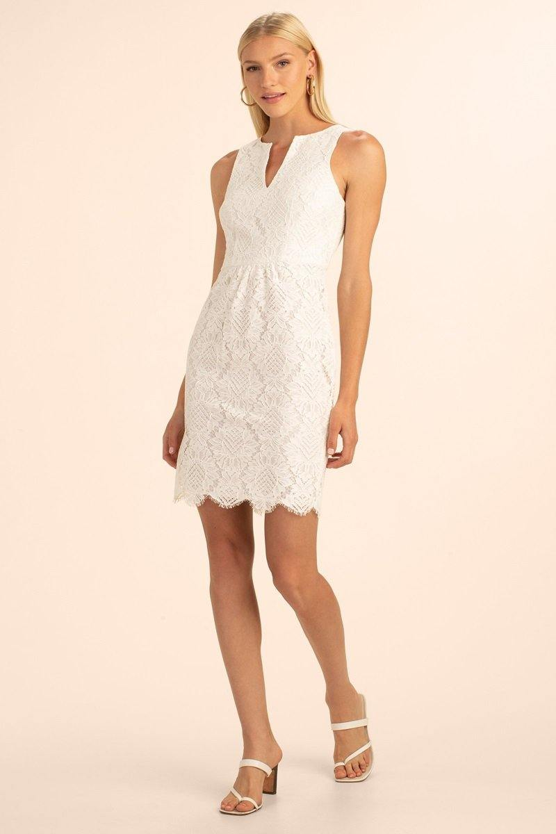 Kahnie Dress - Whitewash