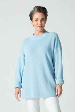 "27"" Half Mock Neck Sweater"