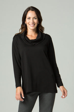 Long Sleeve Cowl Neck Tunic - New Orleans Knitwear