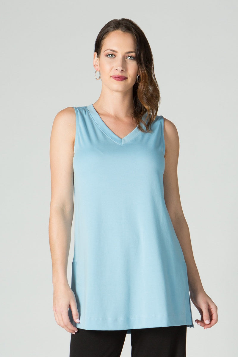 V Neck Tank Tunic - New Orleans Knitwear