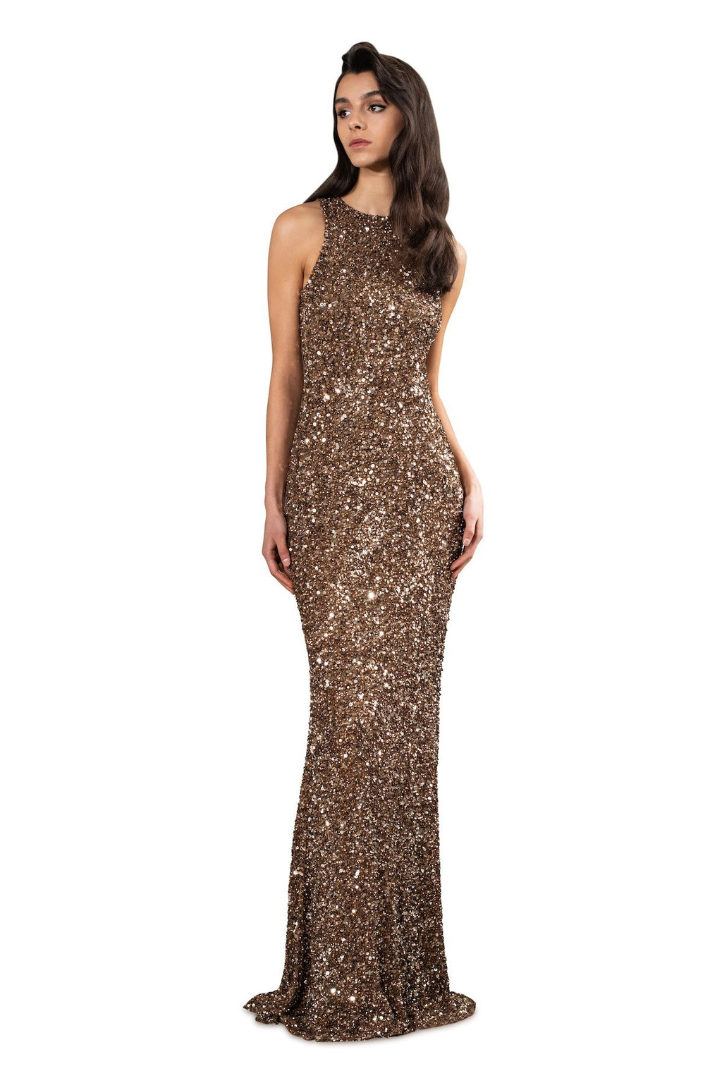 Sleeveless Gown - Theia - Dresses - Evening
