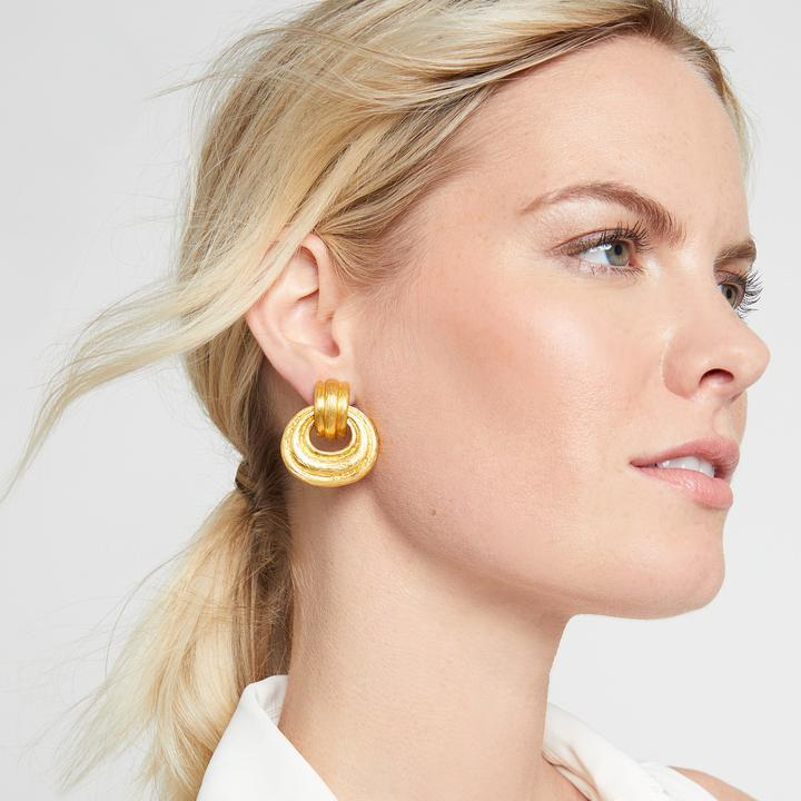 Barcelona Doorknocker Clip - Julie Vos - Earring