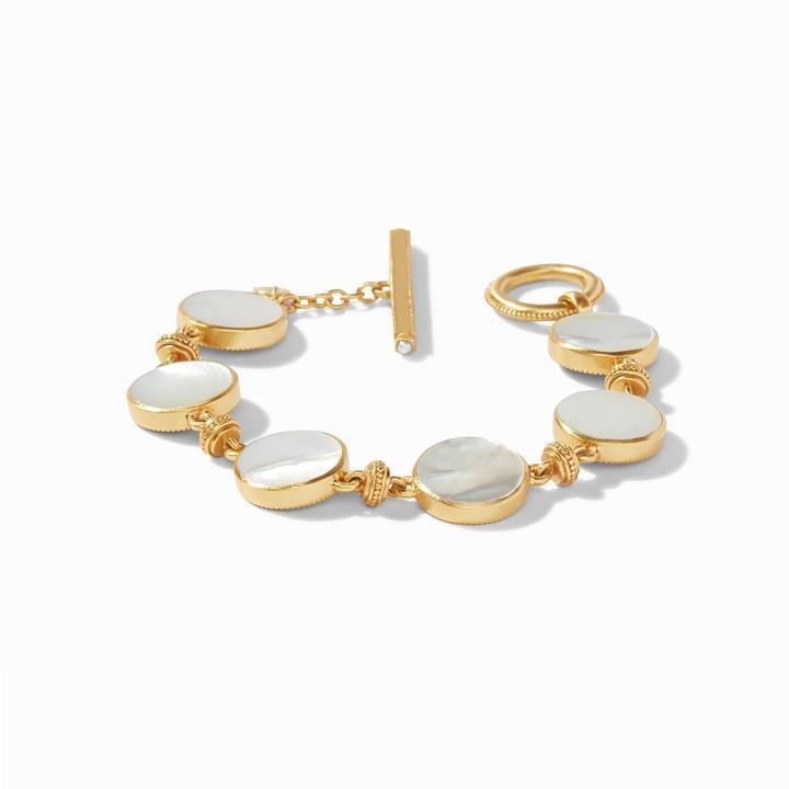 Julie Vos Coin Double Sided Bracelet