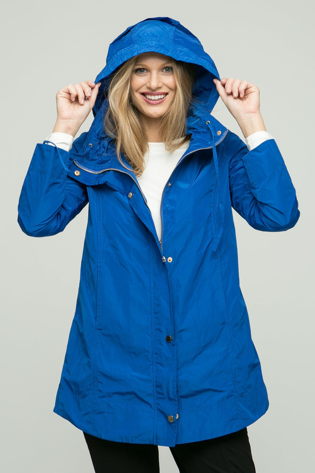 "31"" Long Sleeve Rain Jacket with Hood - Lilli Sucré - Outerwear - Jackets"