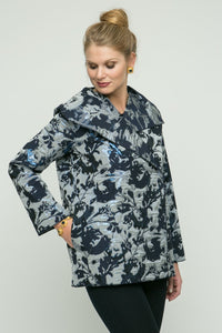 "New Orleans Wovens - 26"" Dress Metallic Printed Jacket"