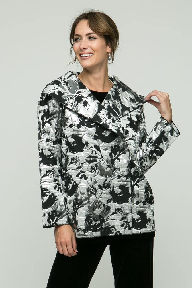 "26"" Dress Metallic Printed Jacket"