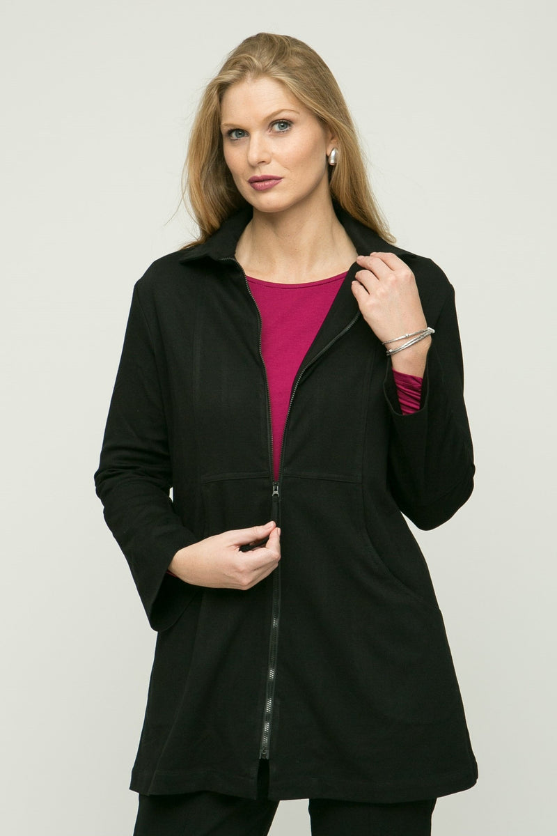 "30"" Zip Jacket with Pockets"