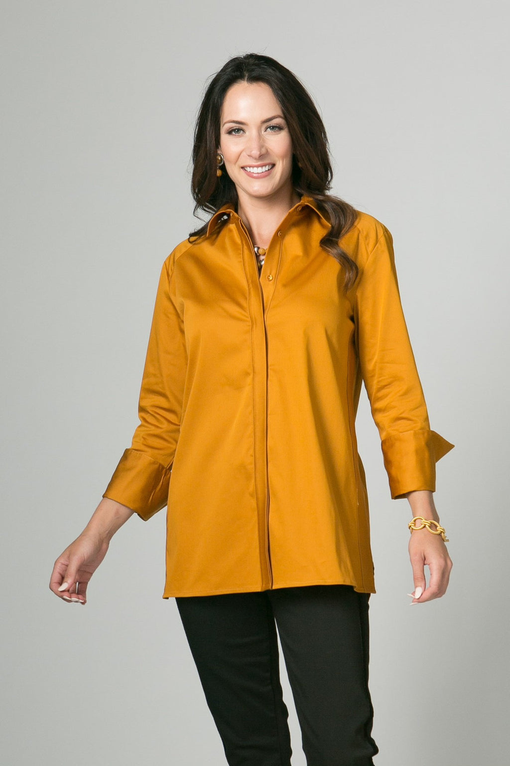 "29"" Button Front Tunic"