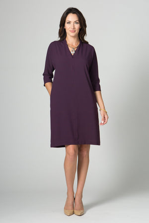 "38"" V-Neck Dress with Pockets - Lilli Sucré"