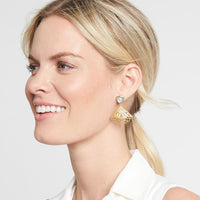 Julie Vos Fan Earring
