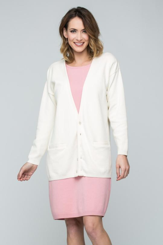 "30"" Deep V Neck Cardigan"