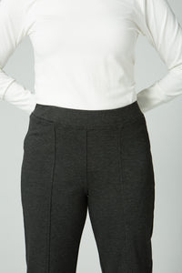 "40"" Straight Leg Pant with Elastic Waist"