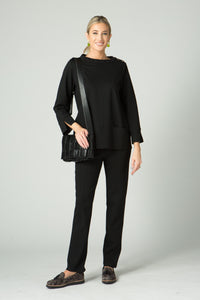 Ponti High Neck Tunic - Amélline - Tops - Blouses
