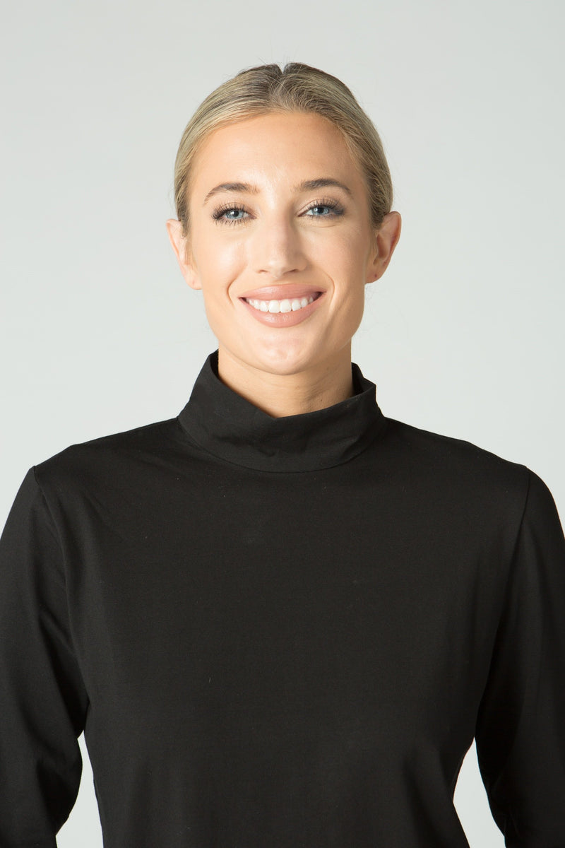 Long Sleeve Turtleneck Top - Endywear - Tops - Blouses