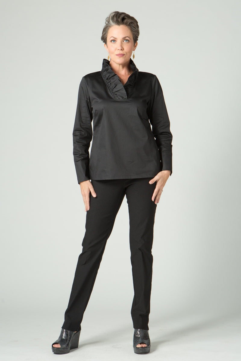 Ruffle Blouse - New Orleans Wovens - Tops - Blouses