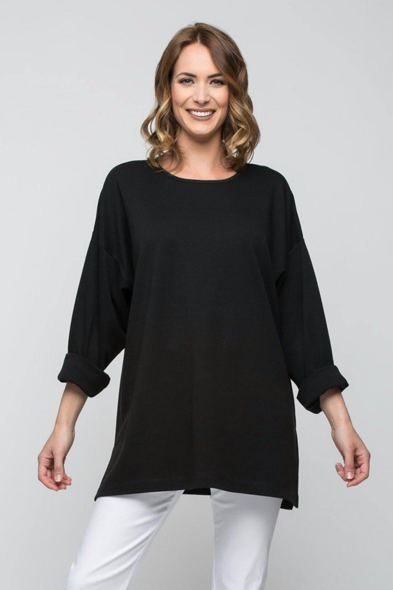 Long Sleeve Oversized Tunic - New Orleans Knitwear - Tops - Sweaters