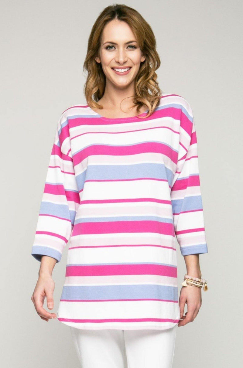 5 Color Shirttail Tunic