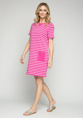 "37"" Stripe Dress with Pockets"