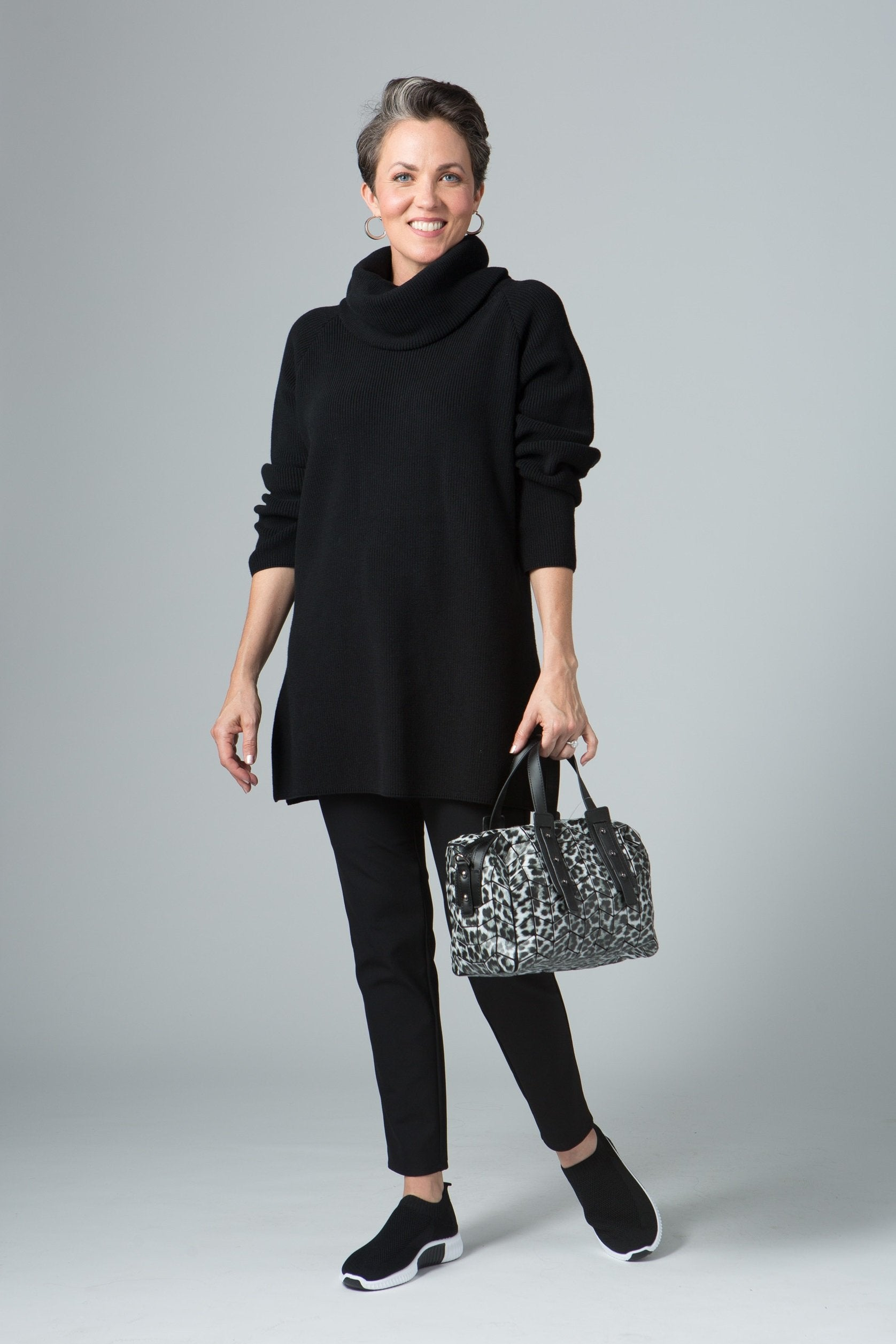 "28"" Oversized Button Tunic"