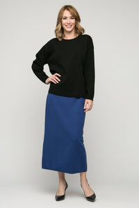"34"" Long Slim Skirt"