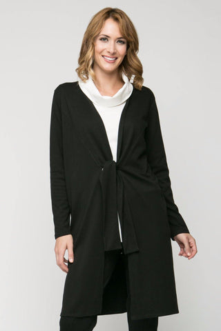 Long Sleeve Tie Cardigan