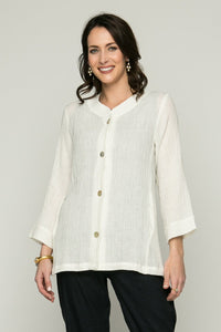 "28"" Button Front Cardigan"