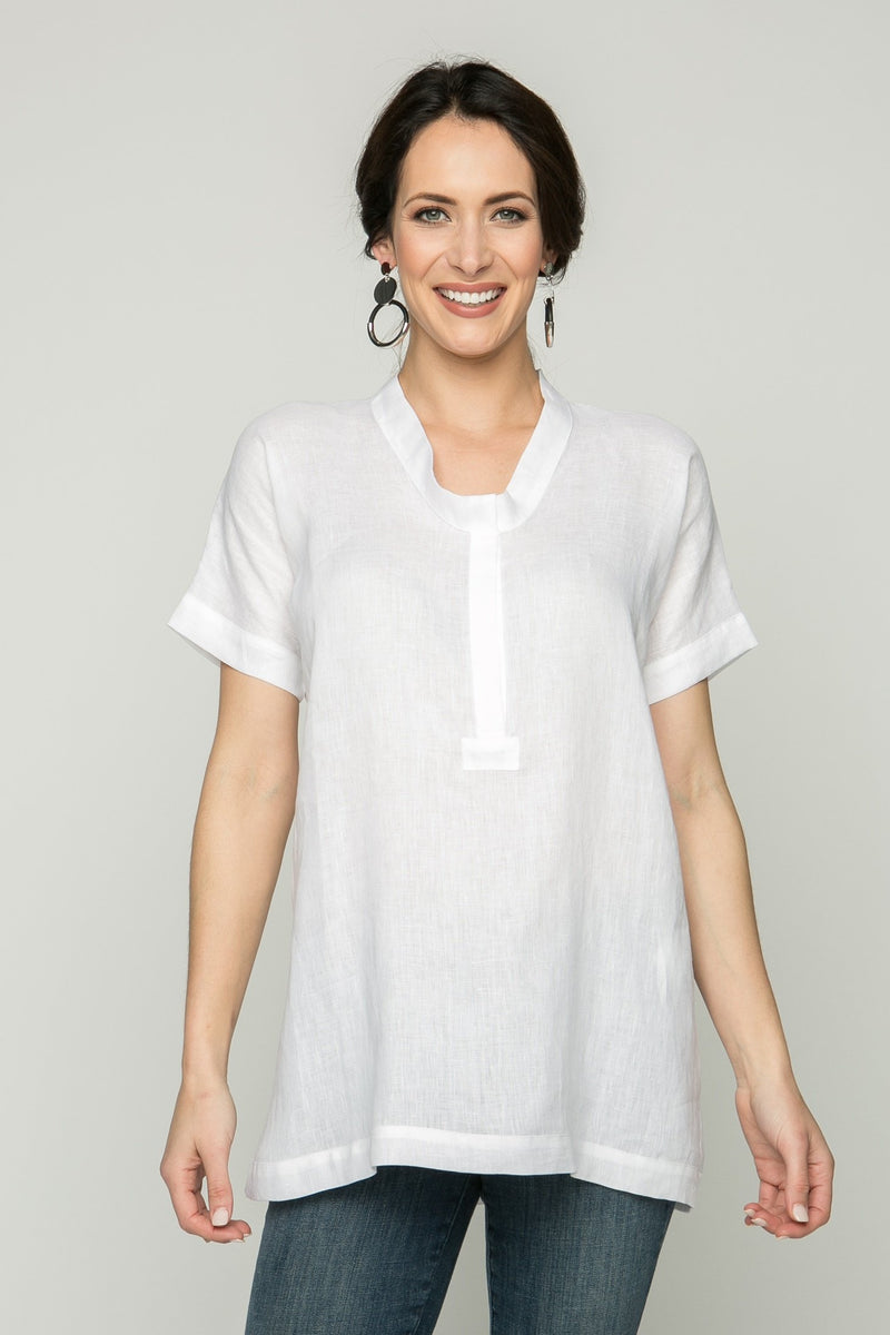 "30"" Dolman Short Sleeve Tunic"