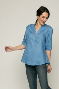 "28"" ¾ Sleeve Tunic"
