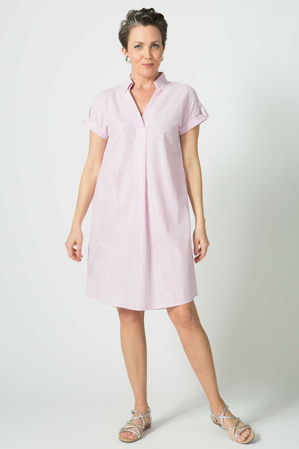 "39"" Short Sleeve Dress - Lili Sucre"