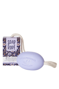 Soap on a Rope - Lavender - European Soaps - Bath & Body