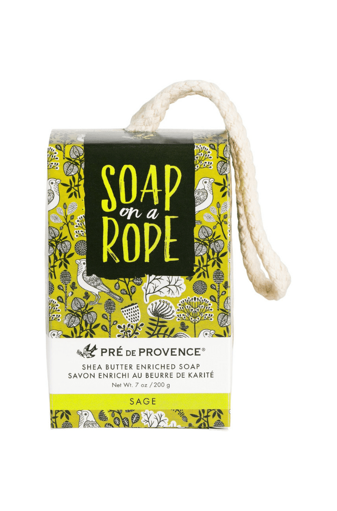 Soap on a Rope - Sage - European Soaps - Bath & Body