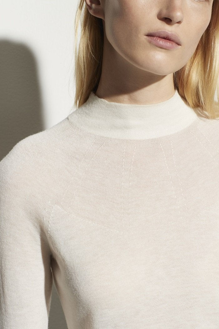 Seamless Funnel Neck Pullover - Vince - Tops - Blouses