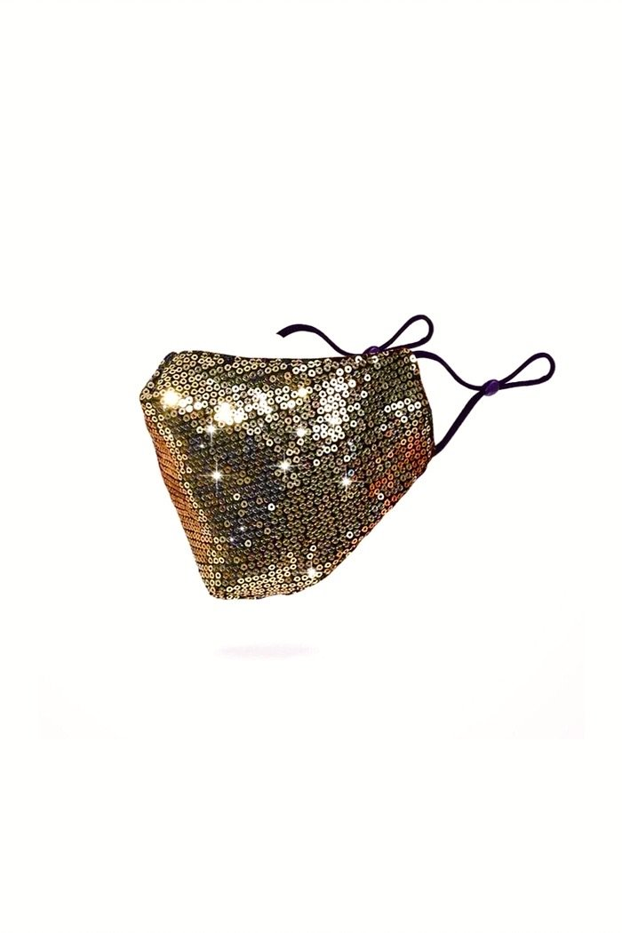Sequin Face Mask - Ballin's Exclusive Designer - Mask