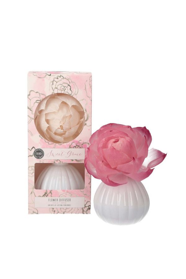 Sweet Grace Flower Diffuser - Bridgewater Candle Co. - Candles & Home Fragrances