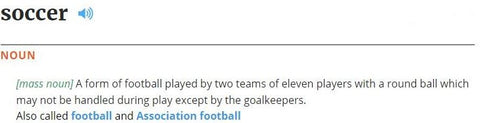 Soccer Definition