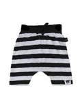 STRIPE DROP CROTCH SHORTS